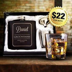 More click [.] Cheap Groomsmen Gifts Ideas Christmas Wedding Etsy Ultimate Groomsman Wedding Pack Flask Whiskey Glass Keep It Personal Personalised Groomsmen Gift Ideas Unique Wedding Gifts For Men Personalised Hip Flask, Personalized Wedding Favors, Wedding Favours, Groomsmen Gifts Unique, Groomsman Gifts, Groomsmen Flask, Wedding Gifts For Men, Wedding Ideas, Wedding Gifts For Groomsmen