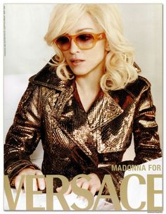 VERSACE - Madonna was lensed by Peruvian photographer Mario Testino - Spring 2005 Donatella Versace, Gianni Versace, Versace Versace, Monica Bellucci, Veronica, Versace Vintage, Divas, Madonna Fashion, Lady Madonna
