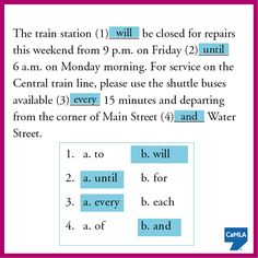 The answers are: 1: b, 2: a, 3: a, 4: b.  Did you get all four correct?