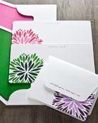 Atticus Paper flower notecards