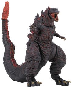 "Crunchyroll - Godzilla 12"" Head to Tail Action Figure - Shin Godzilla 6 inches tall"