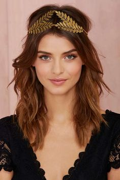 Love To Watch You Leaf Headband - Charm's Cool   Hair + Hats   Back In Stock   Accessories   All