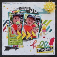 Hello Summer **My Creative Scrapbook** - Scrapbook.com