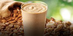 New Nutty Super Grain Vegan Smoothie Smoothie King, Vegan Smoothies, Glass Of Milk, Veggies, Fruit, Cooking, Food, Kitchen, Vegetable Recipes