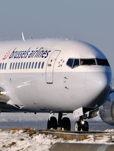 Brussels airlines - plane