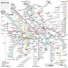 Plan D_ Soluciones creativas » Mapas de Metro del Mundo > Mapa del metro de Berlín