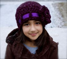 Victorian Winter Beanie by kariodesigns on Etsy, $25.00