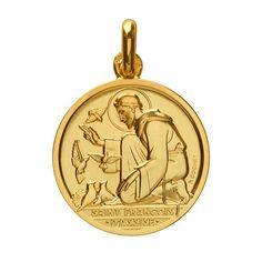 Medaille Saint François d'Assise