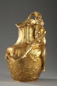 Pichet Art nouveau, Alexandre Vibert
