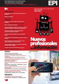 El Profesional de la Información -- Vol. 25, n. 2 (marzo-abr. 2016) -- http://www.elprofesionaldelainformacion.com/index.html