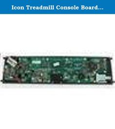 "Icon Treadmill Console Board 161087R 161087 Various Model. Icon Treadmill Console Board ***THIS IS A HIGH QUALITY REMANUFACTURED PRODUCT WHICH MEETS OR EXCEEDS THE SPECIFICATIONS OF THE ORIGINAL*** *** (6) SIX MONTH WARRANTY - REPLACEMENT AT NO COST TO YOU*** *** BE CAREFUL TO MATCH YOUR APPLIANCE MODEL# OR EXACT PART# *** (The ""R"" at the end of our part# indicates Remanufactured) Refurbished Appliance Part Replaces 161087r 161087R Refurbished Icon Treadmill Console. Specifications…"