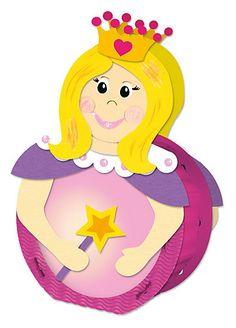 Laternenbastelset Prinzessin