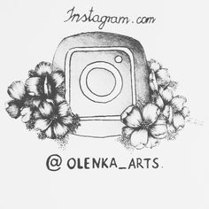 Hello Please take a look at my new art profile! #instagram #share #follow #art #artistic #drawing #floral #socialmedia #selfpromotion #flowers #instalike