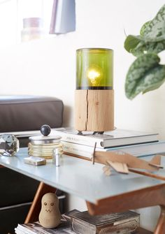 The Oak Men bordlampe - Lantern