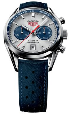 TAG Heuer Carrera Calibre 17 Chronograph Boutique Special Honors The Jack Heuer 80 Limited Edition Watch tag heuer Dream Watches, Fine Watches, Men's Watches, Cool Watches, Fashion Watches, Tag Huer Watches Men, Stylish Watches, Sport Watches, Herren Chronograph