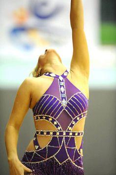 Purple Gatsby Skating Dress by DesignsforElegance on Etsy