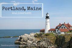 Portland Maine Food & City Guide // Feed me up before you go-go