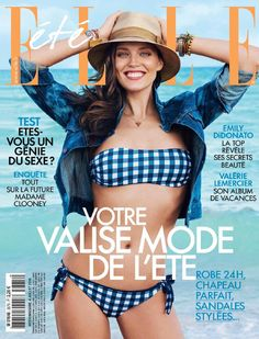 Emily DiDonato - Elle France July 4, 2014 Cover
