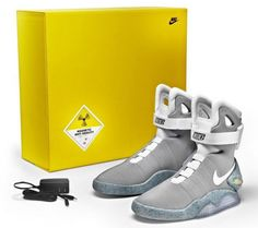 sports shoes 4d75b a766c Nike Air Mag Marty Mcfly 8 Limited Edition 2011 DS NIB back to the future  jordan