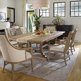 I like the arms on the side chairs. Found it at Wayfair - Coastal Living™ by Stanley Furniture Coastal Living Resort Shelter Bay Dining Table