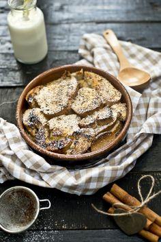 Kuchenne Szaleństwa: Bread pudding- zapiekanka śniadaniowa z cynamonem