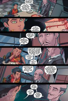 "vikaq: "" Damian is 13 years old and his father is not home to celebrate with him. Dammit Bruce! """