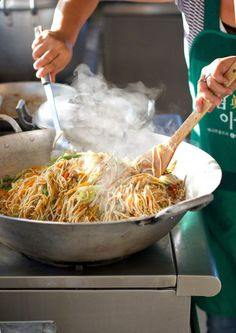 Filipino Pancit means Philippines rice noodles/vegetables, chicken, pork, shrimp, or beef. Like Chinese Lomein but better. Visit us at: ✪✪✪kingsfoods.tumblr...✪✪✪