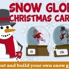 This a fun foldable card to celebrate Christmas/Winter in the classroom.  There are different options: -Blank -Coloring snowman -Decorate a snowman...