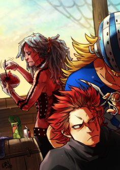 One Piece, Eustass Kid, Killer, Heat