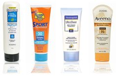 10 Sun Protection Tips  (i really like coppertone oil free. neutrogena ultra sheer is another fav of mine.)