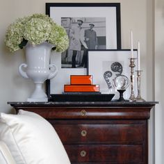 Olivia Palermo's apartment in Tribeca - secret crush? Hermes Vintage Tray