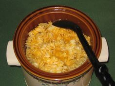 Cooking with Joey: Crock Pot Macaroni and Cheese