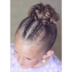"• angie • on Instagram: ""2 small Dutch braids into a big messy bun for the #30DaysNewBraids! Loving this challenge :) """