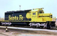 Santa Fe EMD SD40-2 Diesel Locomotive.