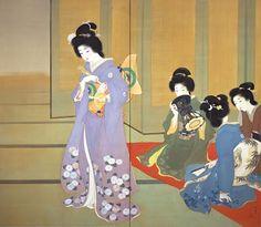 Uemura Shoen, Preparing for Dance, 1914, National Museum of Modern Art, Kyoto