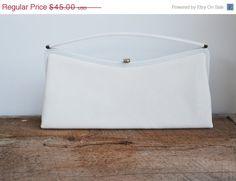 ON SALE Vintage Clutch Bag Evening Bag by JudysJunktion on Etsy, $40.50