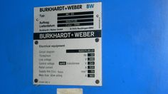 Burkhardt und weber MC 80 Circuit Diagram, Electrical Equipment, Machine Tools