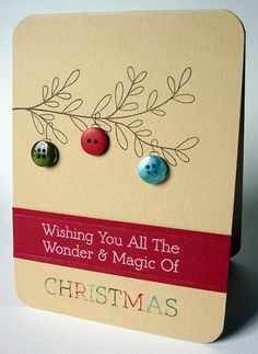 Clean & Simple Christmas Card