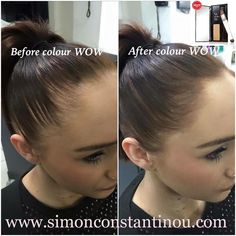 Have you tried award-winning Color Wow root powder? Perfect for covering colour … - Modern Make Hair Thicker, How To Make Hair, Short Hairstyles For Women, Up Hairstyles, Hairline Tattoos, Bad Hairline, Receeding Hairline, Color Wow, Colour