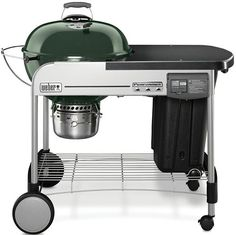 6. Weber Deluxe Charcoal Grill