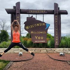 Get your exercise in anywhere.  #suckitupfitness #happysaturday #wisconsin
