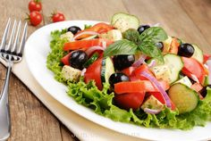 Классический рецепт как приготовить греческий салат