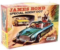 I like this www.airfixmodels.co.uk/model-car-kits.html James Bond DB5 Battery Airfix Model Kit