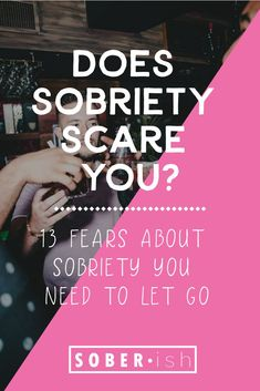 It sounds weird to say, but it's the case for a lot of people. Sobriety can be really scary even if Go Sober, Sober Life, What You Can Do, Believe In You, How Are You Feeling, Sober Living, Mindful Living, Getting Sober, Feeling Hopeless