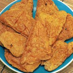 Házi készítésű karfiolkenyér – avagy egy hamis bundás kenyér, amivel még fogyni is fogsz! | Peak Man Snack Recipes, Healthy Recipes, Snacks, Chips, Low Carb, Keto, Dinner, Cooking, Food