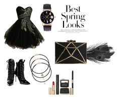 """Proud and perfect"" by christine-lacher on Polyvore featuring Giuseppe Zanotti, H&M and Estée Lauder"