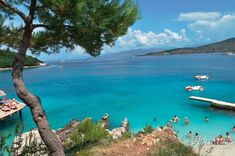 Lovely view in Ksamil!This village is blessed with gorgeous views, amazing beaches and. Great Restaurants, Beach Fun, Good Mood, Beaches, Blessed, Amazing, Water, Outdoor, Gripe Water