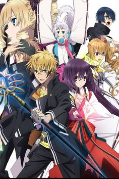 "FUNimation Adds ""Tokyo Ravens,"" ""Freezing Vibration,"" and More to Streaming Anime Lineup Cute Anime Pics, Anime Love, Manga Anime, Anime Art, Tokyo Ravens, Streaming Anime, Best Animes Ever, Animes To Watch, Otaku"