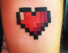 Zelda Coronary heart Tattoo.... See more by visiting the photo