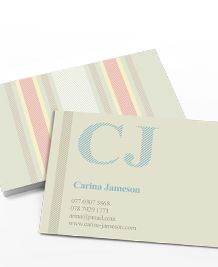 Preview image of Business Card design 'French Linen'